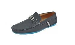 Franco Vanucci Men's Damon Casual Shoes - Grey - Size: 9M