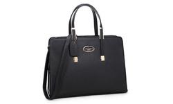 Dasein PA Women's Briefcase Tote Bag w/ Removable Shoulder Strap - Black