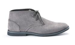Oak & Rush Men's Micro suede Chukka Boots - Grey - Size: 10.5
