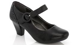 Rasolli 1138 Women's Comfort Career Dress Shoes - Black - Size: 8