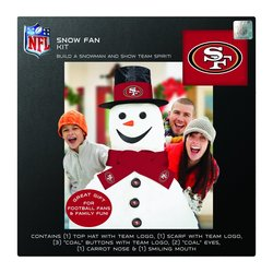 Boelter Brands NFL San Francisco 49ers Snowfan Kit - Black