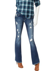 Amethyst Junior's Low Rise Flared Leg Jeans - Rachel - Size: 9