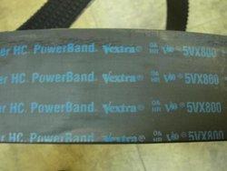 Gates 4/5VX800 Super HC Molded Notch PowerBand Belt - 5VX Section