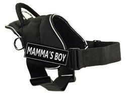 Dean & Tyler Mamma's Boy Dog Harness - Black - Size: XS