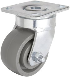 RWM Casters S65 Series Stainless Steel 1050-Pounds Capacity Plate Caster