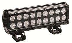 "KC HiLiTES 1306 Black 10"" 54W Rectangular Driving LED Light"