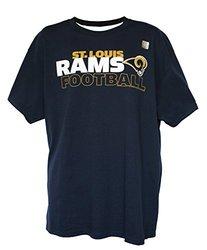 NFL Men's Wordmark Logo T-Shirt by G-III - St. Louis Rams - Size: X-Large
