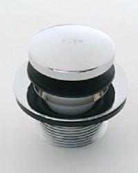 Jaclo 529-125-SC Toe Control Drain Strainer, Satin Chrome