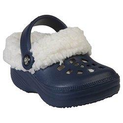 Children's Fleece Dawgs: Navy-White/5-6