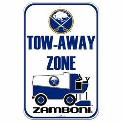 "WinCraft NHL Buffalo Sabres/Zamboni 11"" x 17"" Street Sign"
