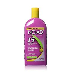 No-Ad Spf15 Sunscreen Lotion (Pack) 1.8 x, 16oz, 3