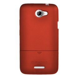 Seidio Surface Case - HTC One X  - Garnet Red