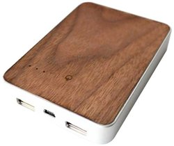 Altaz, Inc. Walnut Firewood Portable Battery