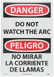20X14RP DANGERDO NOT WATCH THE ARC SGN