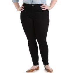 Lee Women's Plus-Size Easy Fit Jade Leggings - Black - Size: 3X