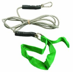 Cando 7' Green Exercise Bungee Cord - Medium green