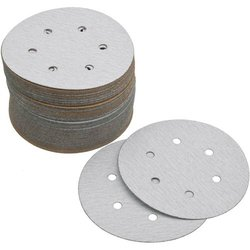 Grizzly H4086 6-Inch Sanding Disc, A150-A Hand Length 6 Hole, 100-Piece