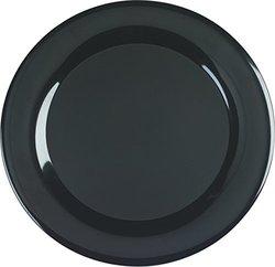 Carlisle Designer Displayware Melamine Wide Rim Round Platter - Case of 4