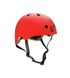 Sixsixone Dirt Lid Stacked Helmet - Matte Red - Size: One
