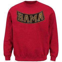 NCAA Men's Long Sleeve Crew Neck Fleece Sweatshirt - Cardinal - Sz: Small