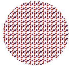 "Kwik-Cover 60"" Round Fitted Table Cover - Pack of 50 - Celebration"