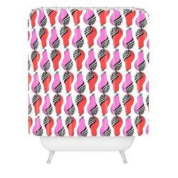 "DENY Designs Rebekah Ginda Pears Pop Shower Curtain - 69"" x 72"""