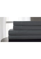Elite Home 800 Thread Count Tencel Blend Sheet Set - Gray - Size: Queen