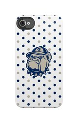 Uncommon LLC Georgetown University Hard Case for iPhone 4/4S - Blue/White