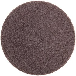 "Norton R228 Metalite Speed-Lok Abrasive Disc, Cloth Backing, TR, Aluminum Oxide, 3"" Diameter, Grit 24  (Pack of 10)"
