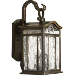 "Progress Lighting 15"" 2-Light Outdoor Wall Lantern - Oil Rubbed Bronze"