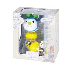 Papillon Twist and Rattle Caterpillar Baby Toy
