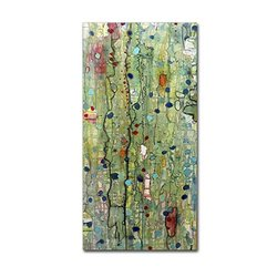 "Trademark Fine Art 12"" x 24"" Sylvie Demers 'In Vitro' Canvas Art"