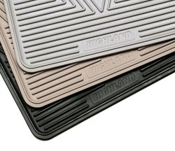 Highland 2002 Toyota Corolla All-Weather Gray Front Seat Floor Mat