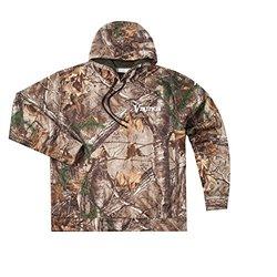 NFL Minnesota Vikings Boys Champion Realtree Xtra Polyester Tech Fleece Full Zip Hoodie, 2X, Camo