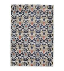 Momeni Casa Navy 3' 11 inch x 5' 7 inch Indoor Area Rug - Navy Blue