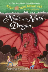 "Mary Pope Osborne by ""Night of the Ninth Dragon"" Hardcover"