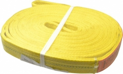"""Lift-All 2"""" x 16' 2-ply Polyester Web Endless Sling - Yellow"""