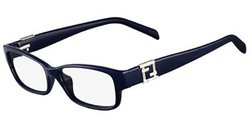 Fendi 1015R 424 52mm Women's Optical Eyeglasses - Blue/Clear