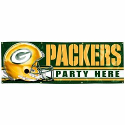 Wincraft Green Bay Packers 2X6' Vinyl Banner One Color