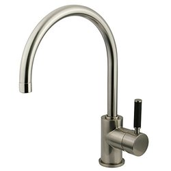Kingston Brass Kaiser Single Handle Vessel Sink Faucet - Satin Nickle