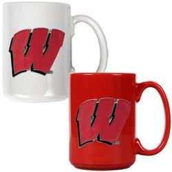 Wisconsin Badgers NCAA c Ceramic Mug Set - Primary Logo 2