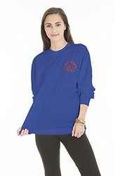 NCAA Boise State Broncos Women's Long Sleeve Jersey - Royal - Size: XL