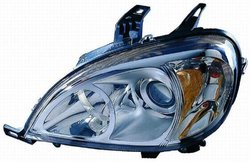 Depo 340-1104L-AS Mercedes-Benz M-Class Driver Side Replacement Headlight Assembly