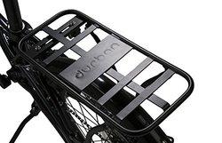 Durban Mounted Bicycle Back Rack - Black