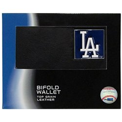 Los Angeles Dodgers Leather Bi-fold Wallet