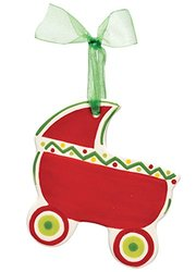M.Bagwell Baby Carriage Ornament