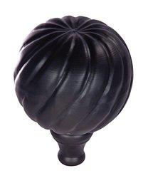 Dalvento Medium Parisian Finial- Black Matte
