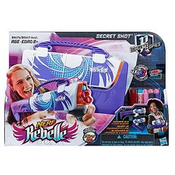 Nerf Rebelle Secret Shot Blaster - Purple