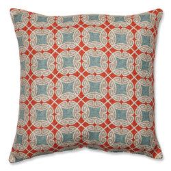 "Pillow Perfect 18"" Ferrow Throw Pillow - Multi"