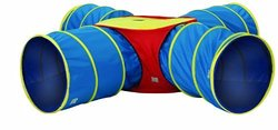 Pacific Play Tents Institutional Tunnels of Fun Junction Set - Blue